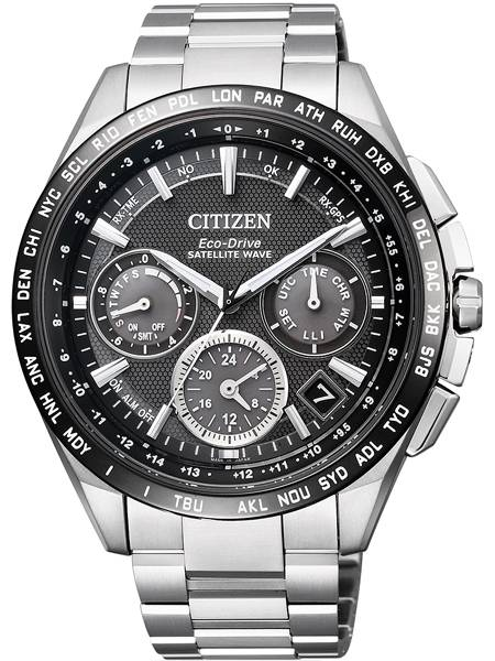 Citizen Eco Drive CC9015-54E Titanium Satellite Wave Cal. F900 Herenhorloge