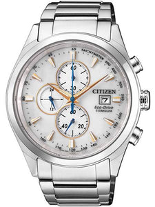 Citizen Eco-Drive CA0650-82B Chrono Super Titanium Herenhorloge