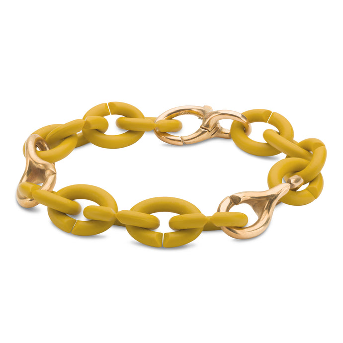 Mellow Yellow Pop Bronze Bracelet