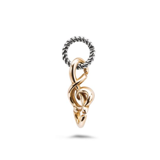 Twisted melody earring