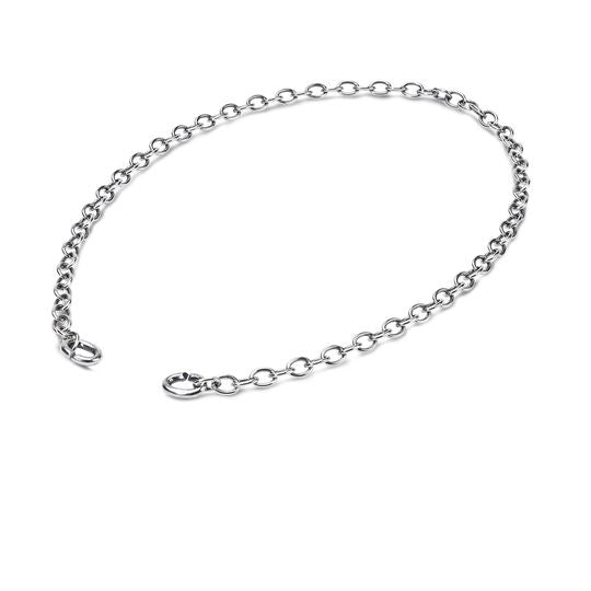 Link chain 40 cm silver