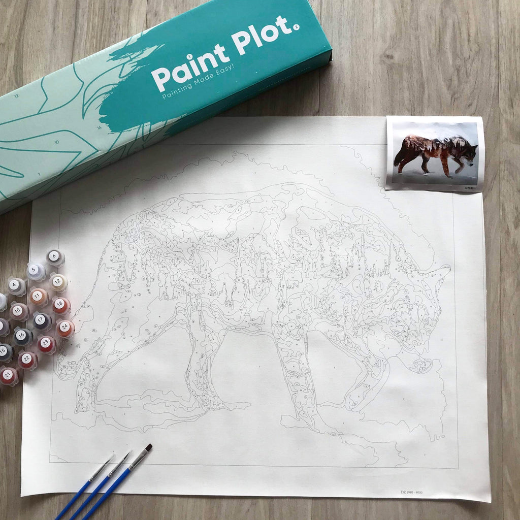 Get Paint by Numbers Online From Paint Plot Australia