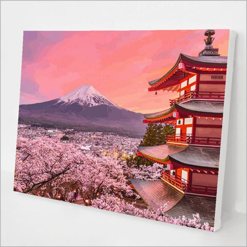 Mount Fuji Paint by Numbers kit