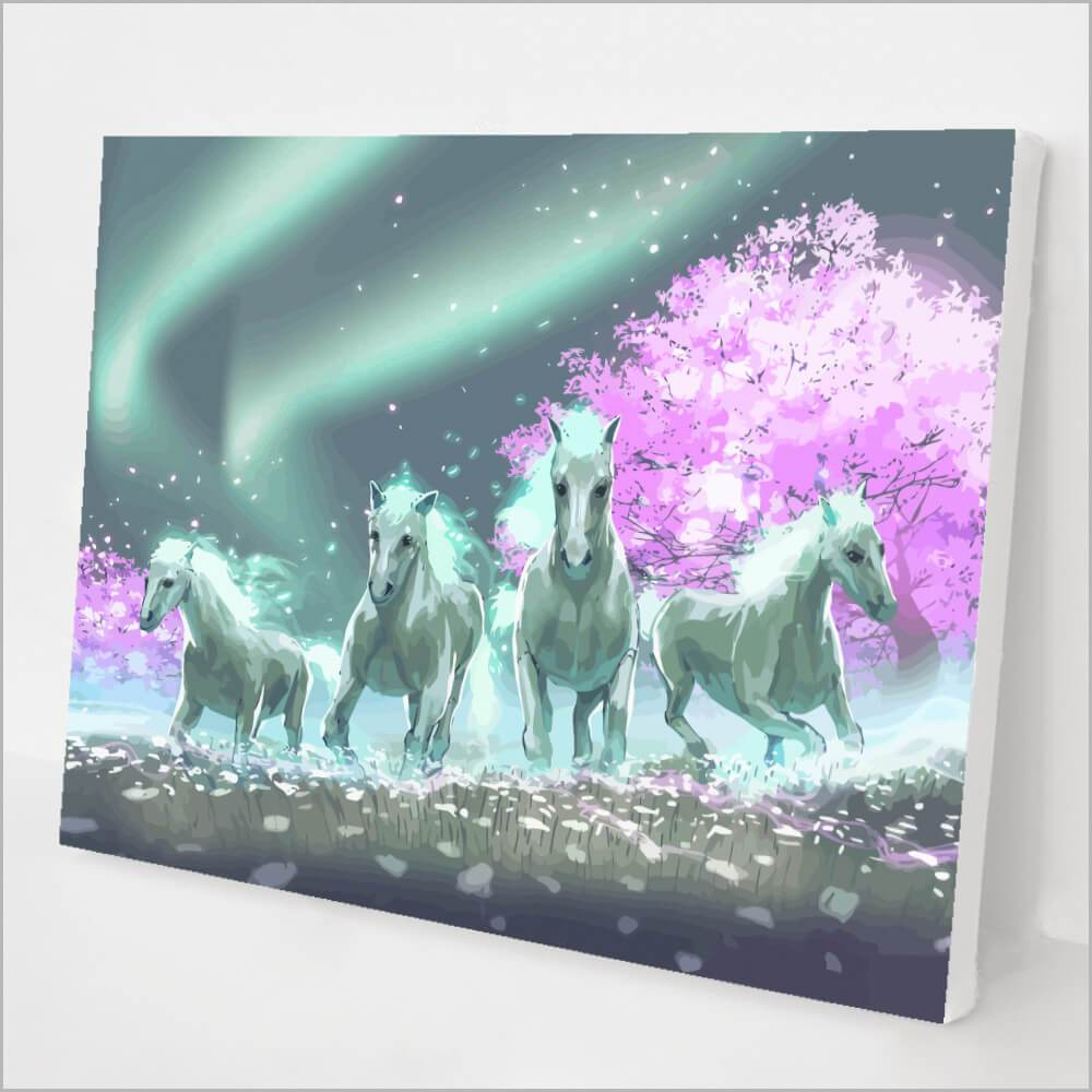 Glowing Horses kit