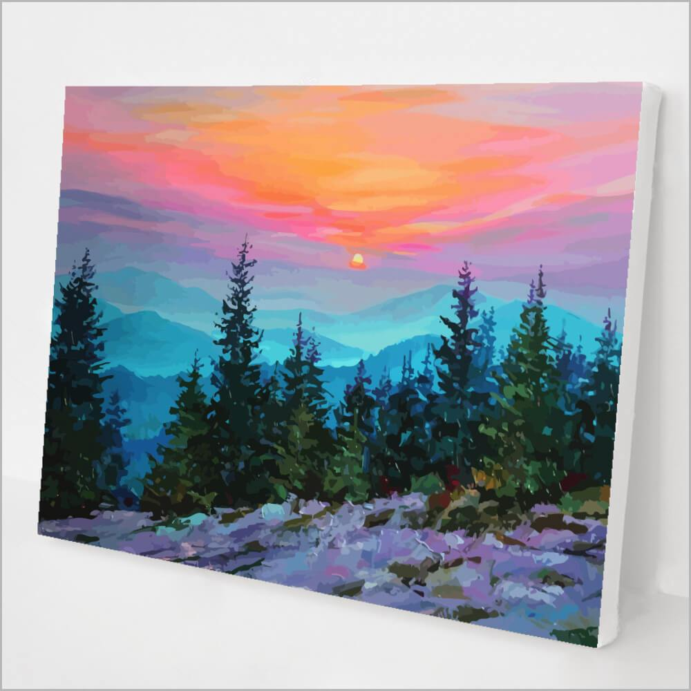 Misty Mountain Sunrise kit