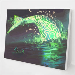 Glowing Whale kit