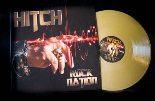 Rock Nation in Gold Vinyl