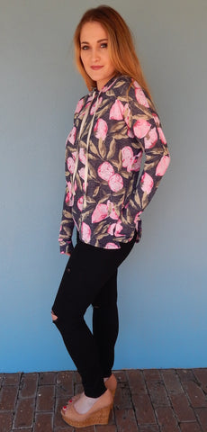 Lemon Tree Sweatshirt - Front Door Boutique