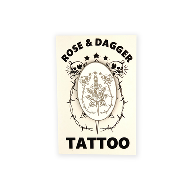 Rose & Dagger Pin