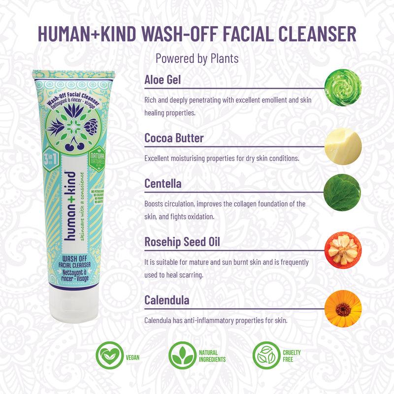 Wash Off Facial Cleanser