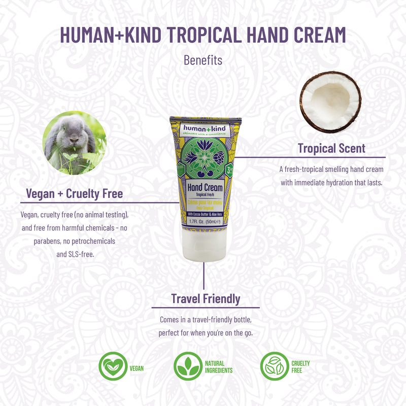 Hand creams Tropical