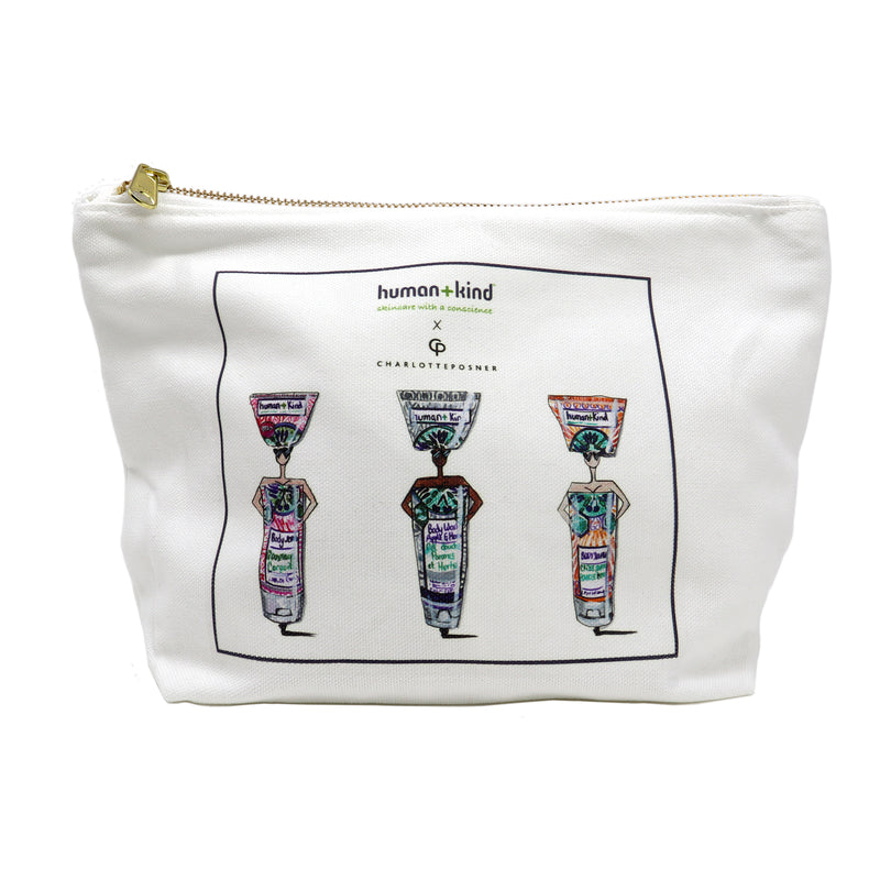 Charlotte Posner BODY care cosmetic bag (limited Edition)