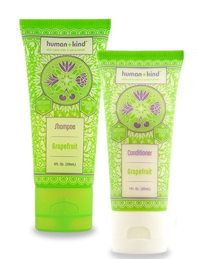 Shampoo and Conditioner Grapefruit, Mini Set, 30ml