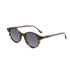 00134 Trendy Round Nylon Lenses Acetate Full Frame Acetate Temple Unisex Sunglasses 50-21-148