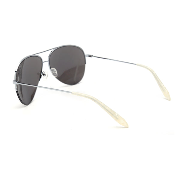 LD4017 Fashion Sunglasses  Pilot Half-Rim Stainless Women Lens PC Stainless&PC Temple
