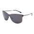 PN2081 Fashion Square PC Lens Stainless Full Frame Stainless&PC Temple Women Sunglasses
