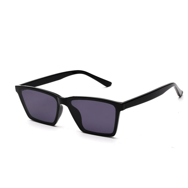 00021 Classic square TAC(Polarized) Lenses TR Full Frame Acetate Temple Unisex Sunglasses