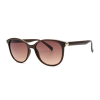 LD3034 Fashion Round AC Lens PC Full Frame PC Temple Women Sunglasses
