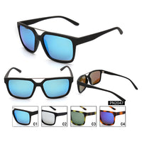 PN2047 Classic Square TAC(Polarized) Lens PC Full Frame PC Temple Men Sunglasses
