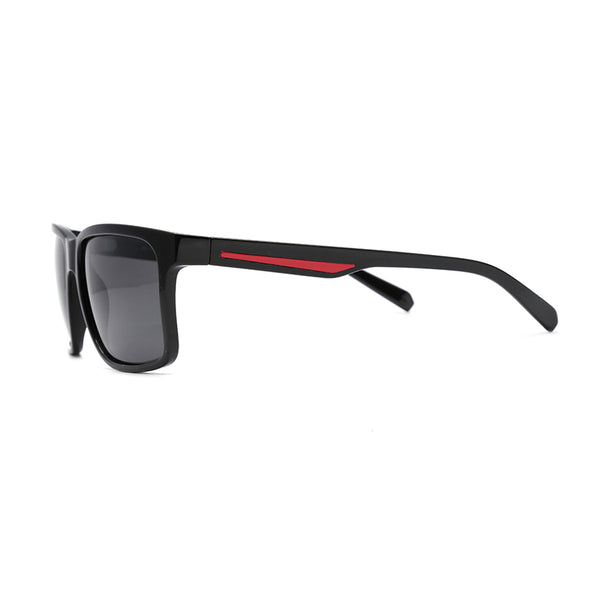 PN3004 Classic Square TAC(Polarized) Lens TR Full Frame TR Temple Men Sunglasses