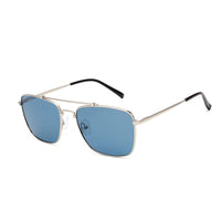 00072 Classic Square TAC(Polarized) Lenses Metal Full Frame Metal Temple Unisex Sunglasses 60-14-140