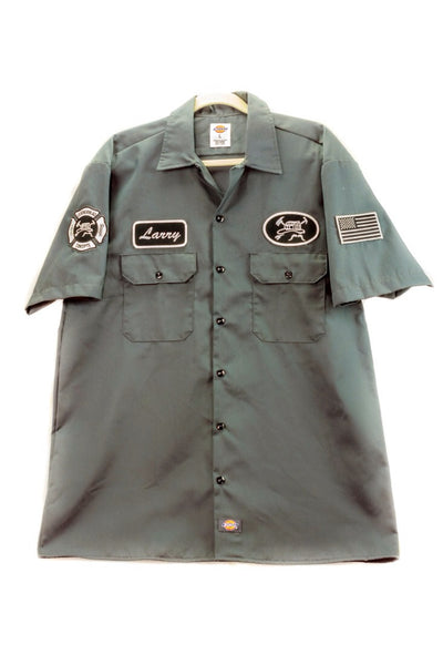 Mechanics Shirt With Personalized Name Patch
