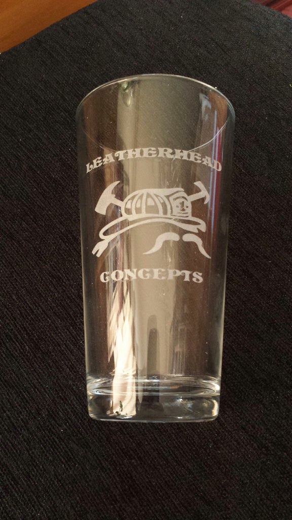 Leatherhead Concepts Pint Glass