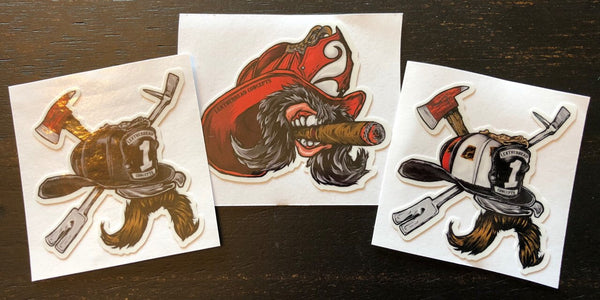 Leatherhead Concepts Stickers