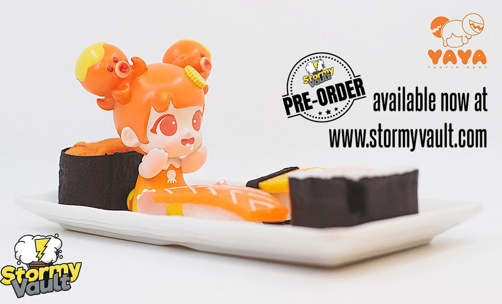 *Pre-Order* Yaya Orange Octopus by Moedouble