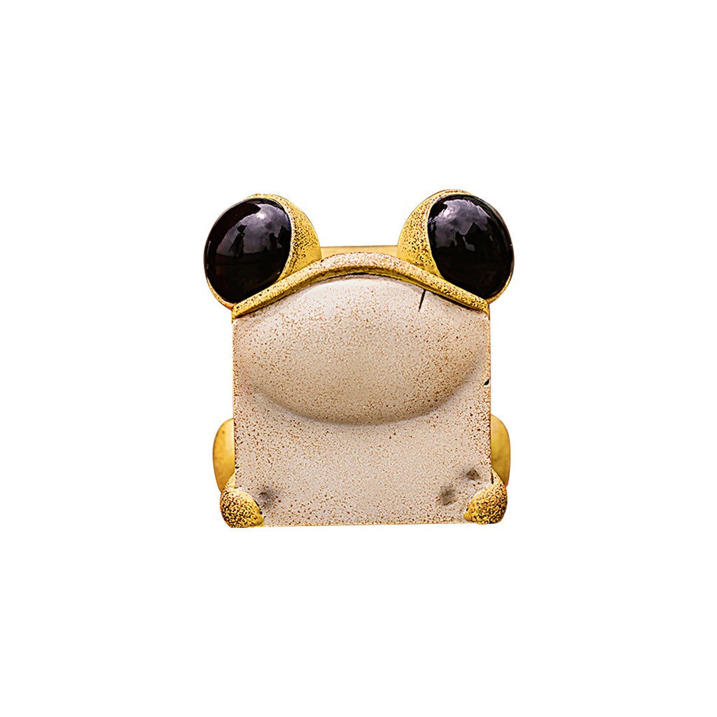 *Pre-Order* Sank Toys Cube Frog Yellow