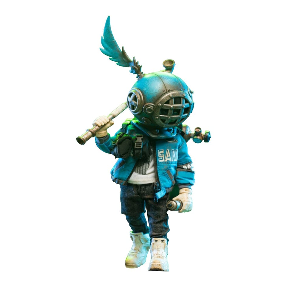 *Pre-Order* Sank - Action Figure - Blues by Sank Toys