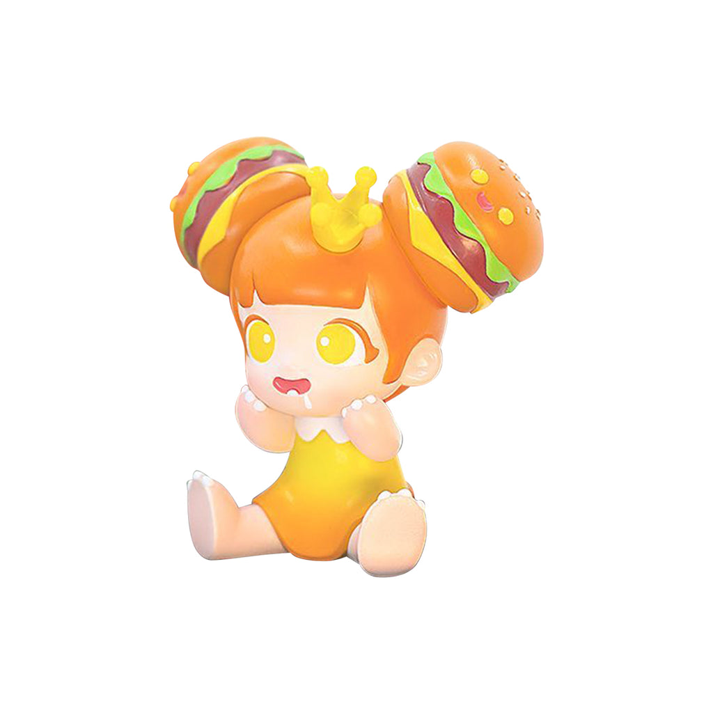 *Preorder* Yaya- Burger- Orange