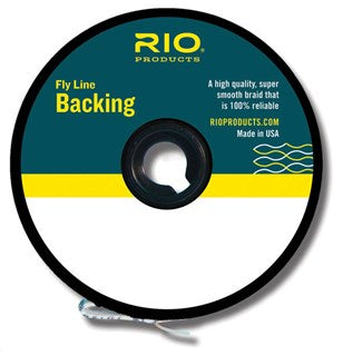 Rio Multi Color Gel Spun Fly Line Backing