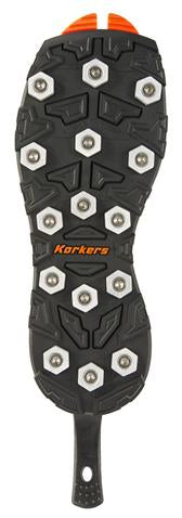 Korkers Triple Threat Soles Aluminum Hex Disc Soles