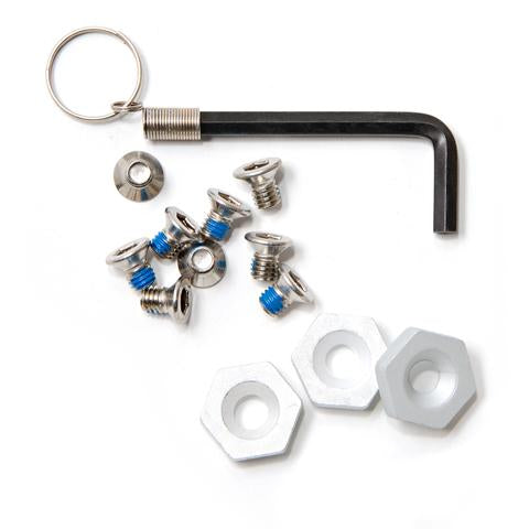 Korkers Triple Threat Aluminum Hex Disc Kit