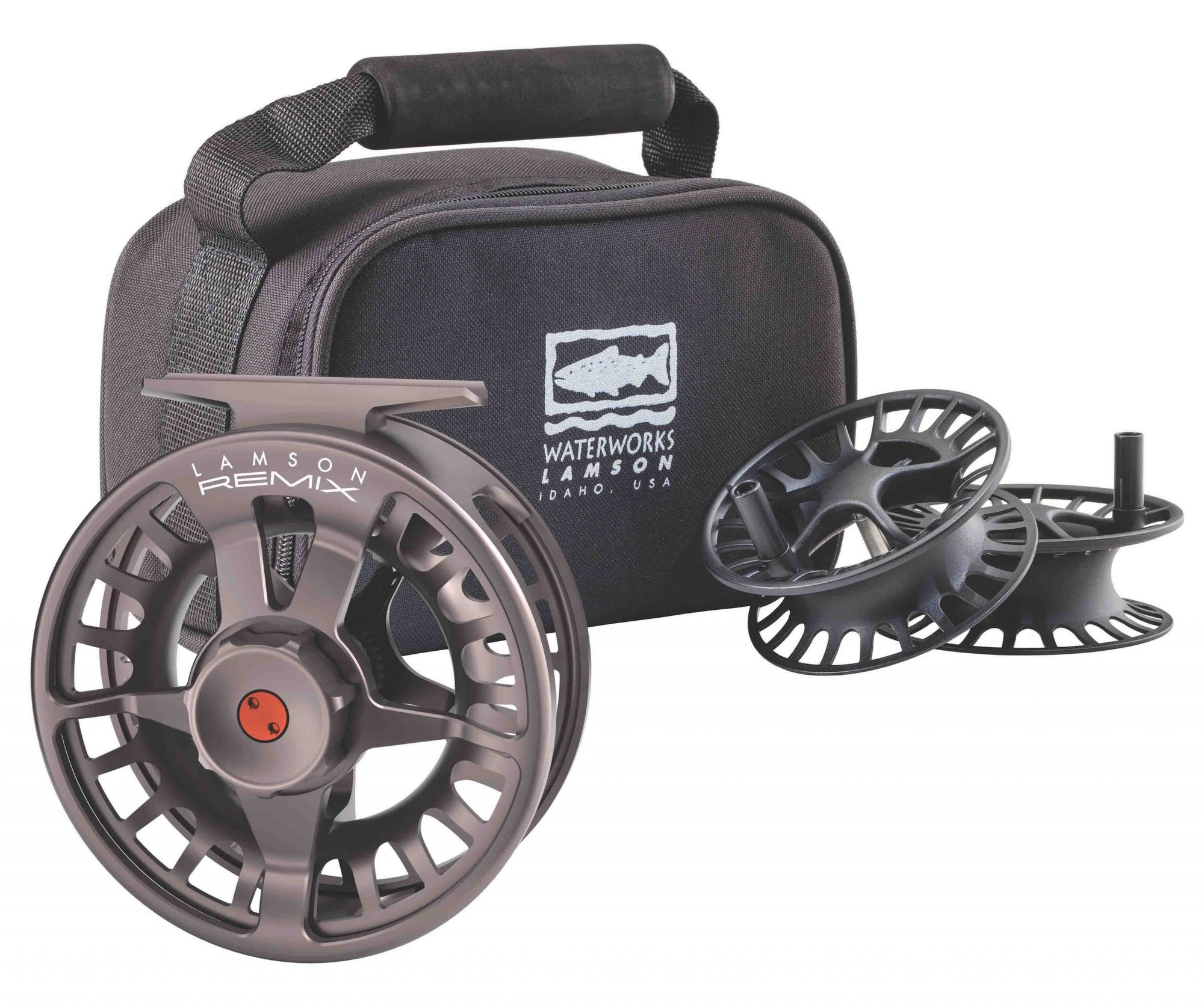 Lamson Remix HD 3-Pack Fly Reel & 2 Spools
