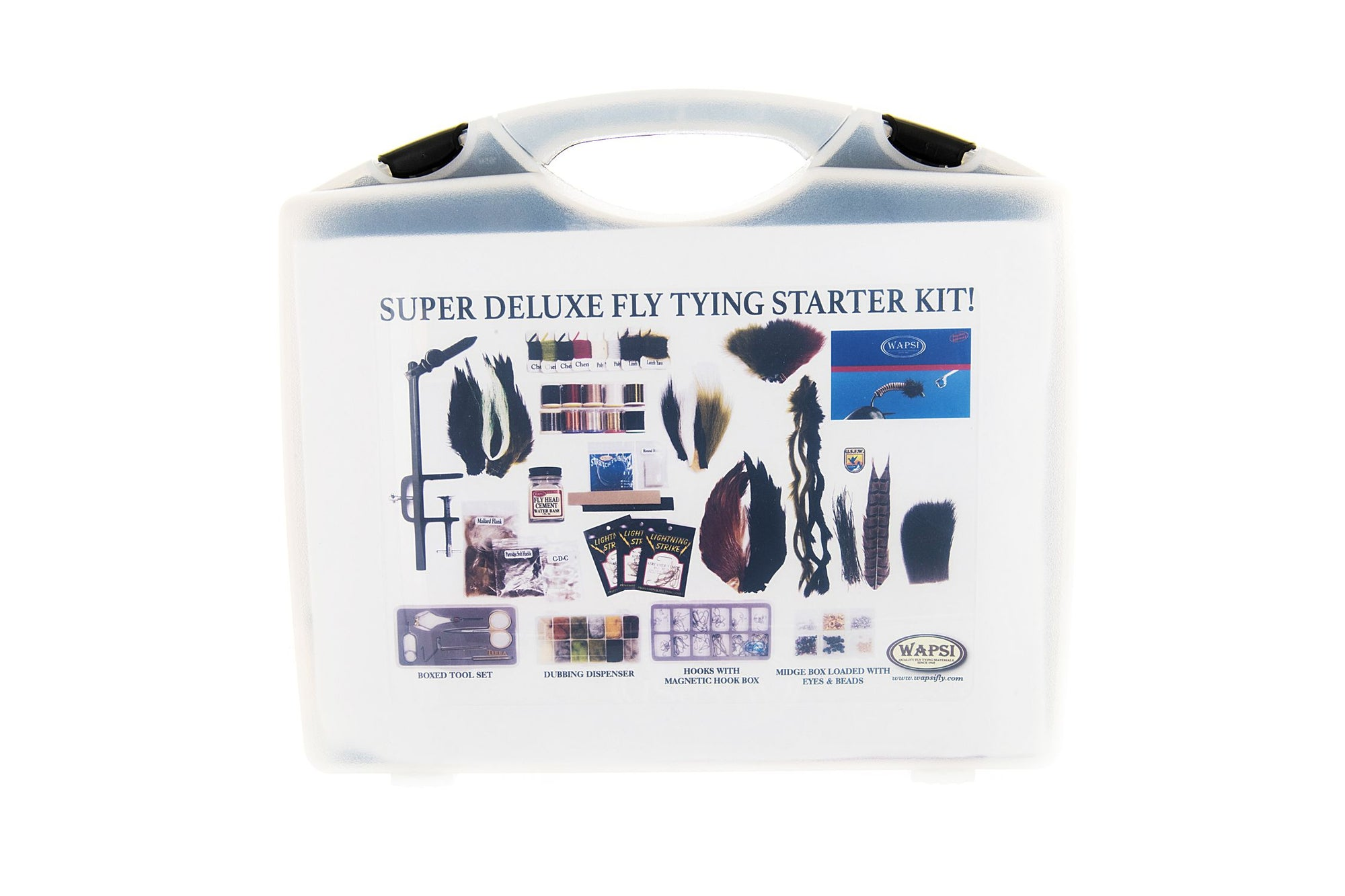 Wapsi Super Deluxe Fly Tying Kit