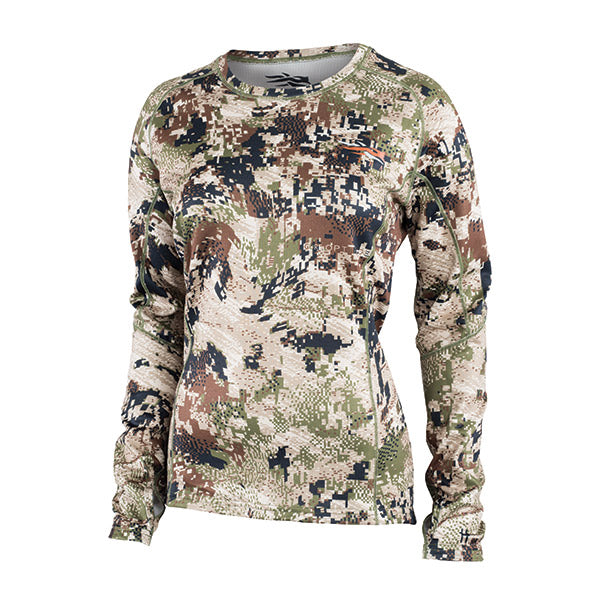 Sitka Womens Core Midweight Crew LS