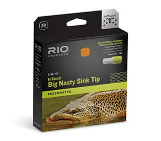 Rio InTouch Big Nasty 4D Sink Tip Fly Line