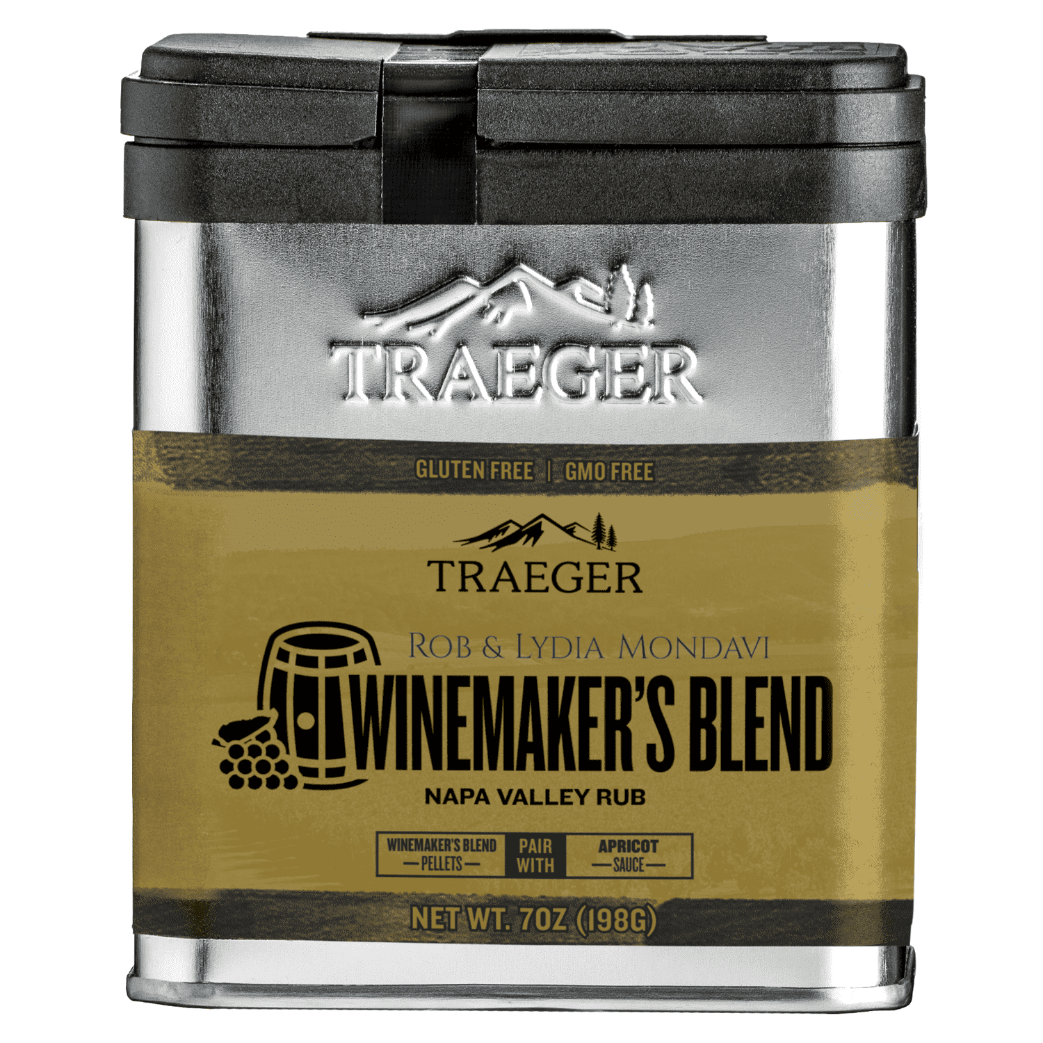 Traeger Winemaker Napa Valley Rub