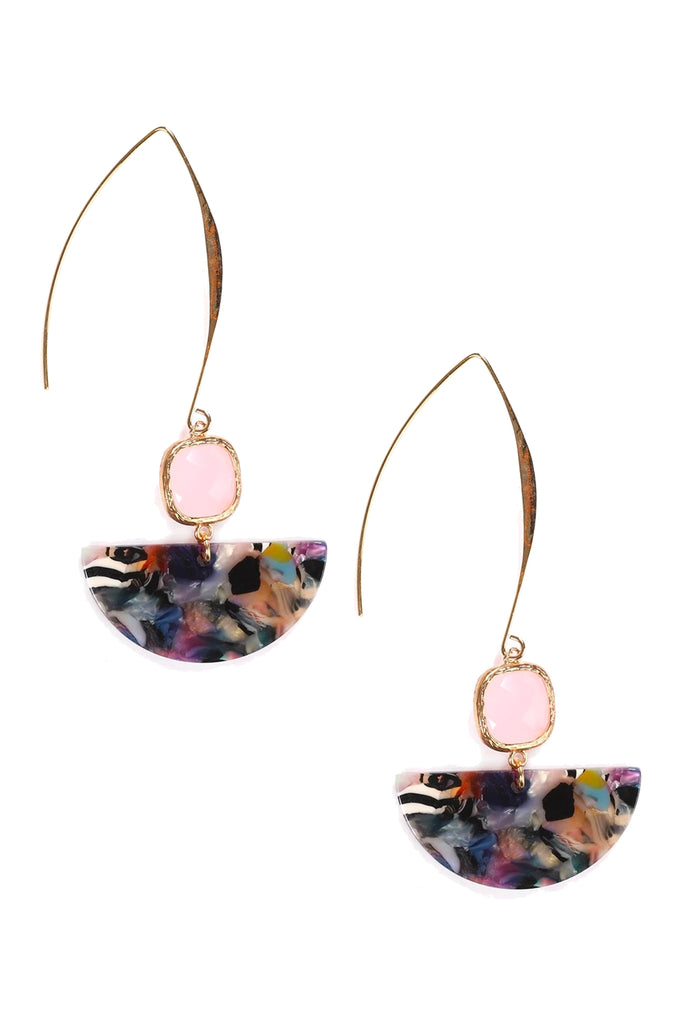 Achara Earrings - Dark