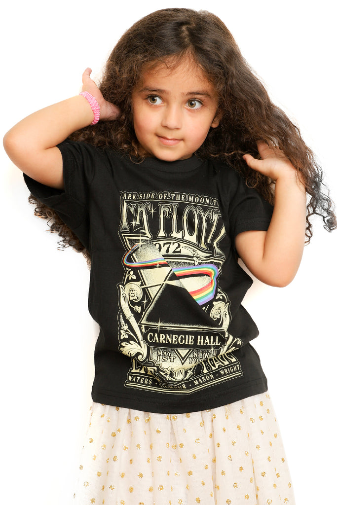 Kid's Pink Floyd T-Shirt - Carnegie Hall - Black (Boys and Girls)