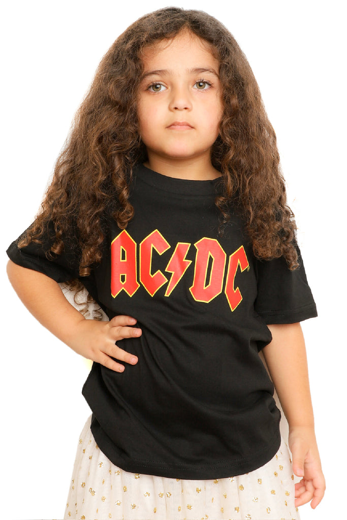Kid's AC DC T-Shirt - Black (Boys and Girls)