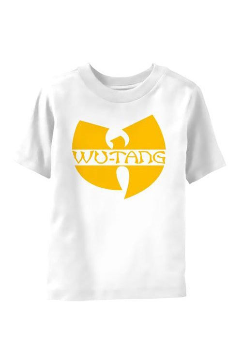 Kid's Wu Tang Clan T-Shirt - Logo - White (Boys and Girls)