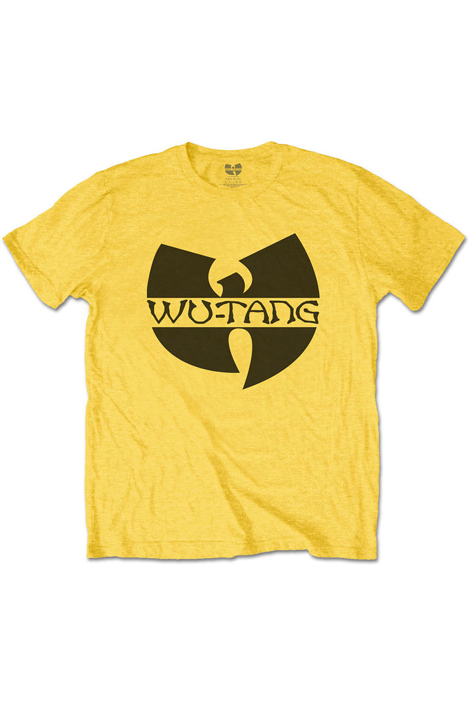 Kid's Wu Tang Clan T-Shirt - Logo - Yellow (Boys and Girls)
