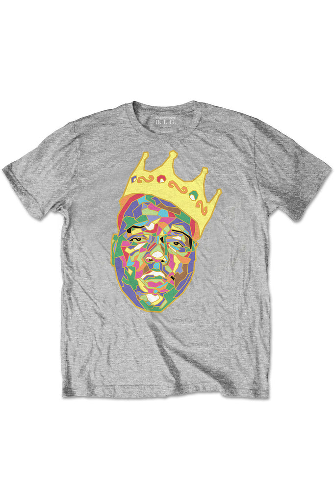 Kid's Biggie T-Shirt - Crown - Grey (Boys and Girls)