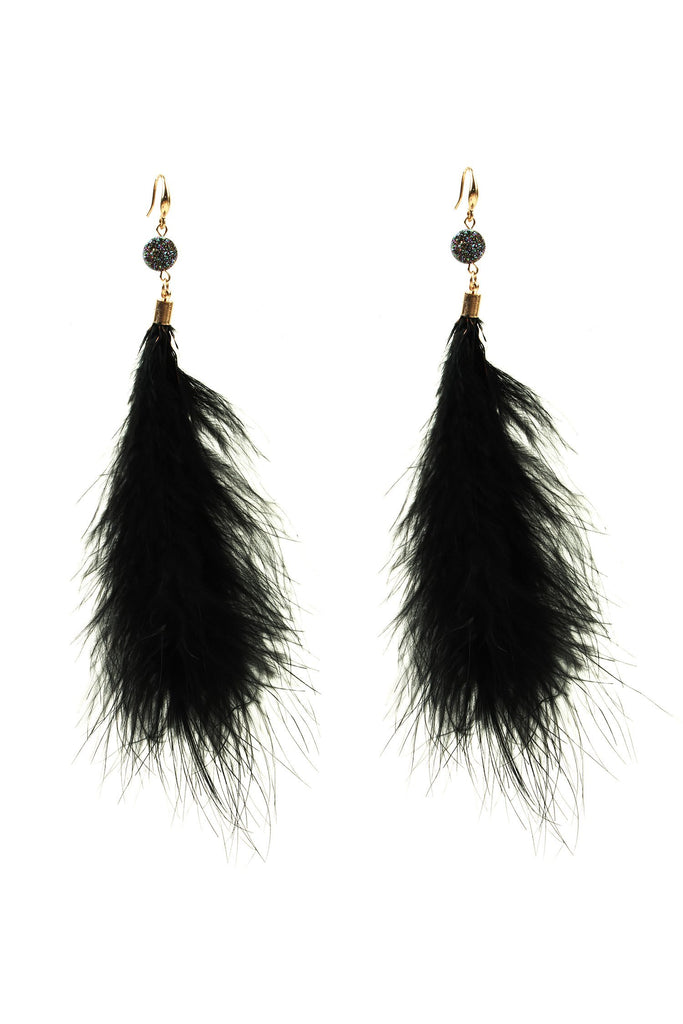 Marrisa Earrings - Black