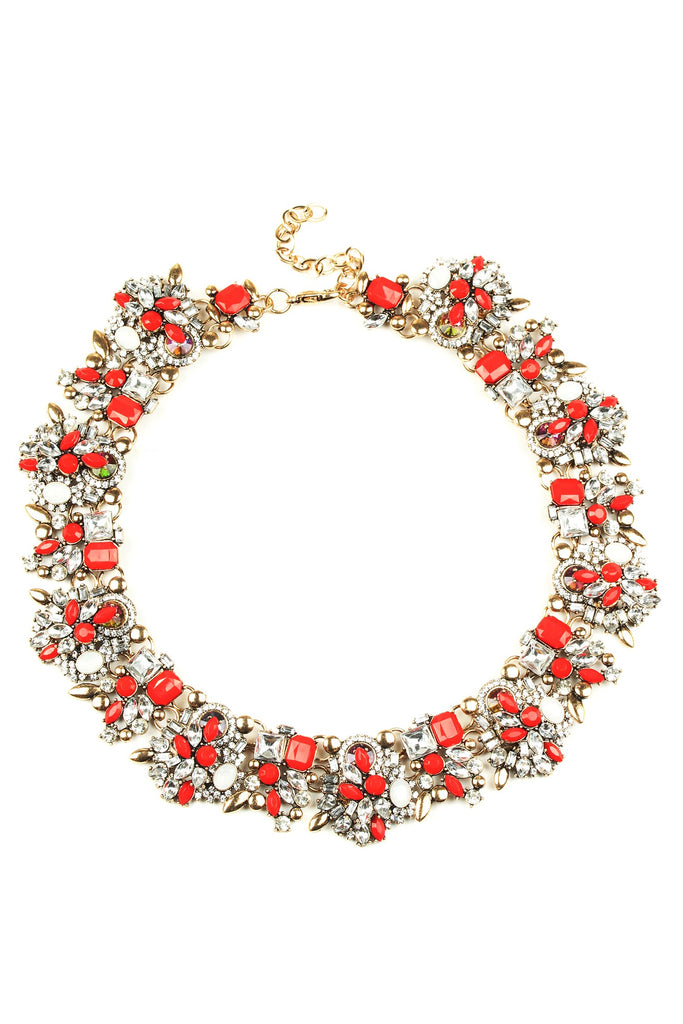 Sloane Necklace - Red