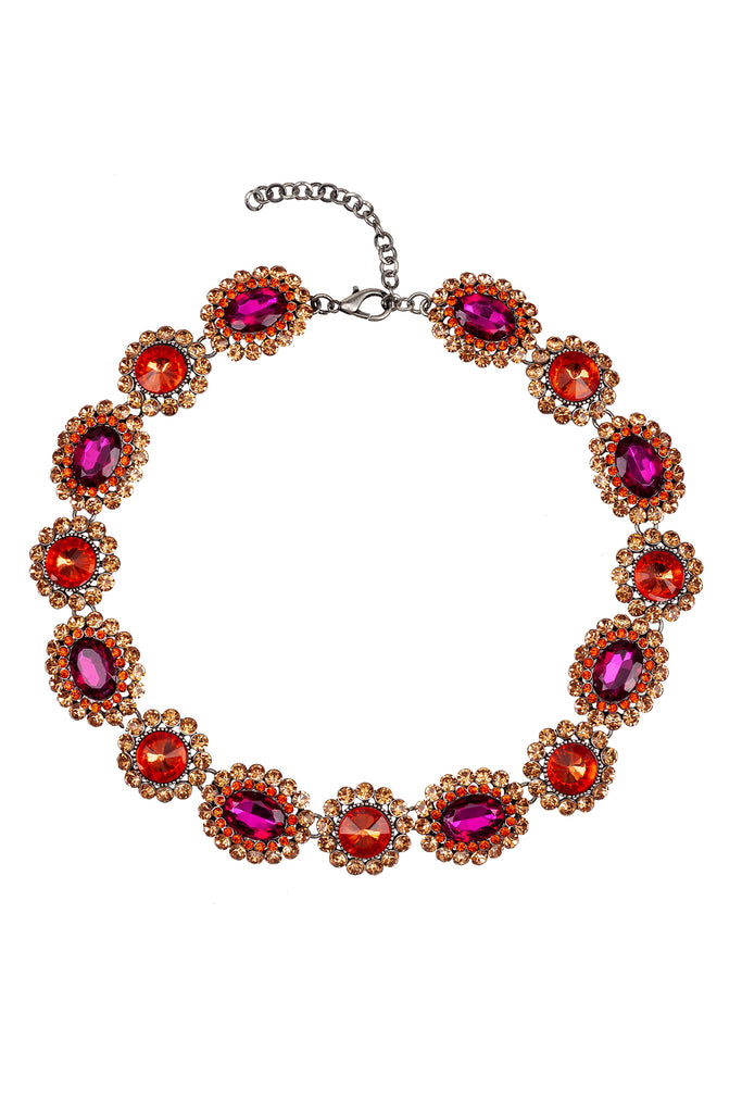 Juliet Necklace - Red