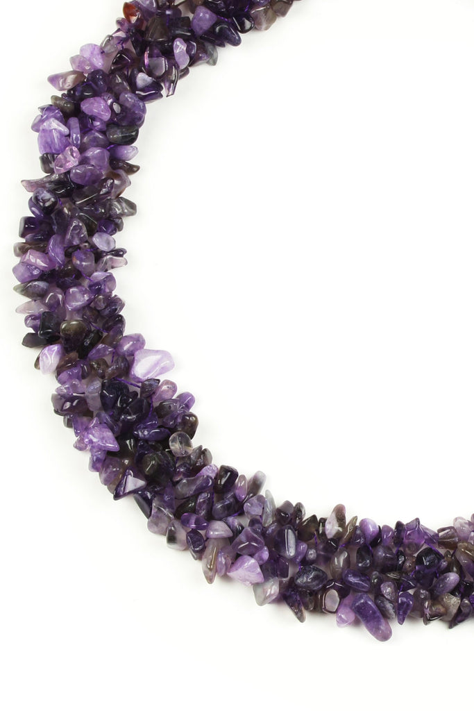 Remi Necklace - Amethyst
